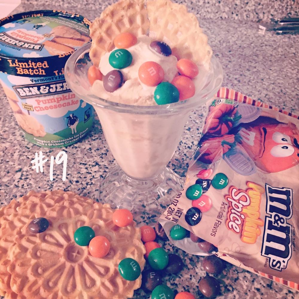 Ben & Jerry's Pumpkin Cheesecake Icecream