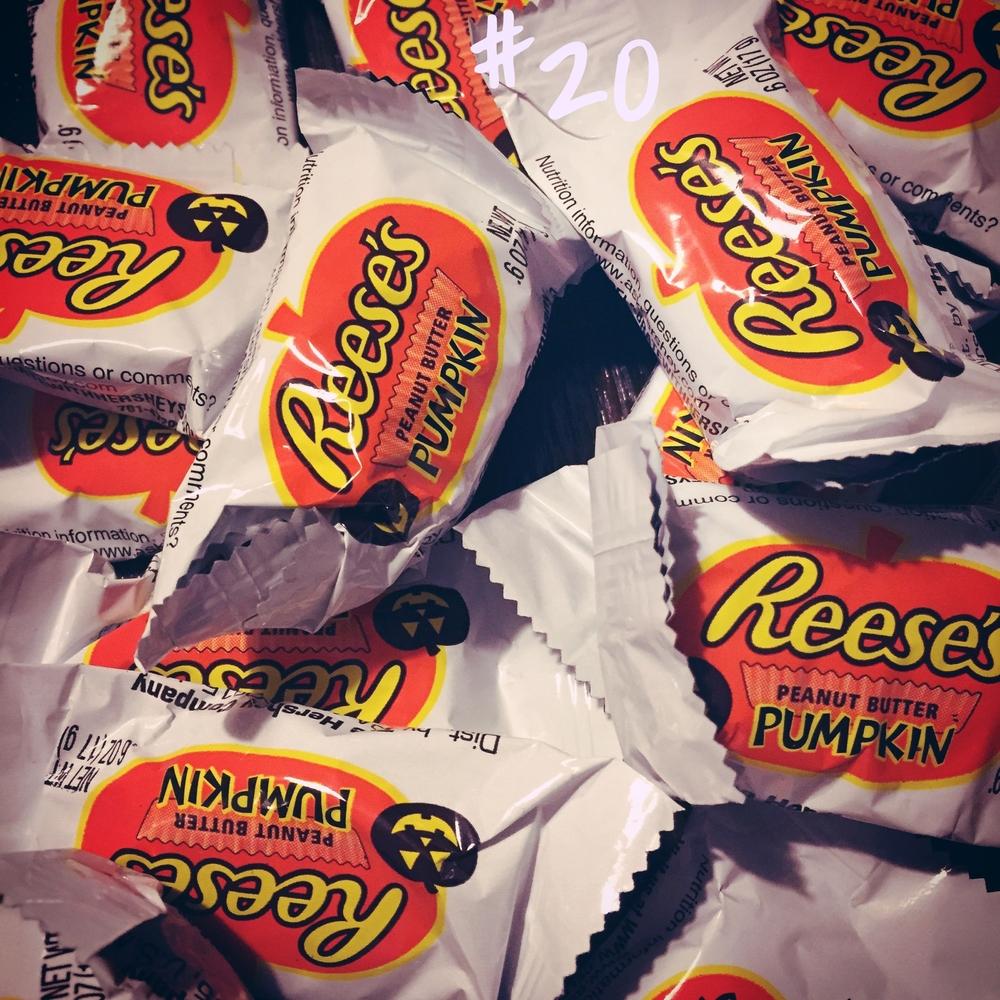 Reese's Pumpkin Peanut Butter Cups