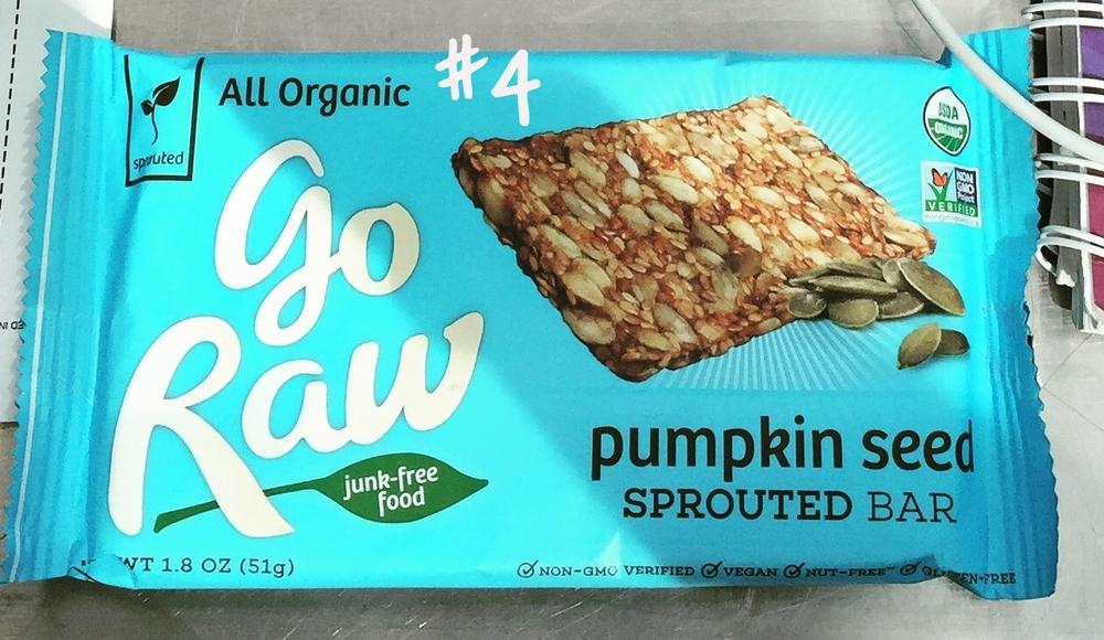 Go Raw Pumpkin Seed Bar