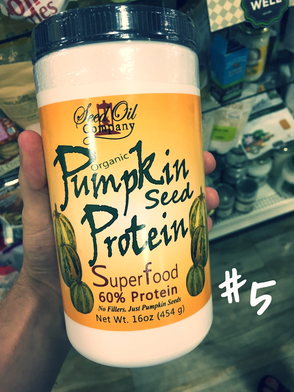 Seed Oil Company Pumpkin Seed Protein