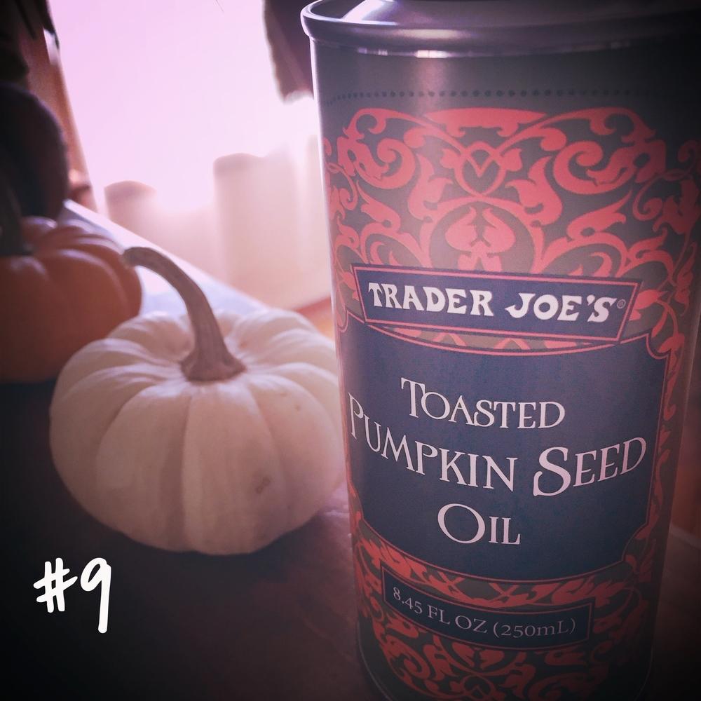Trader Joe's Pumpkin Seed Oil