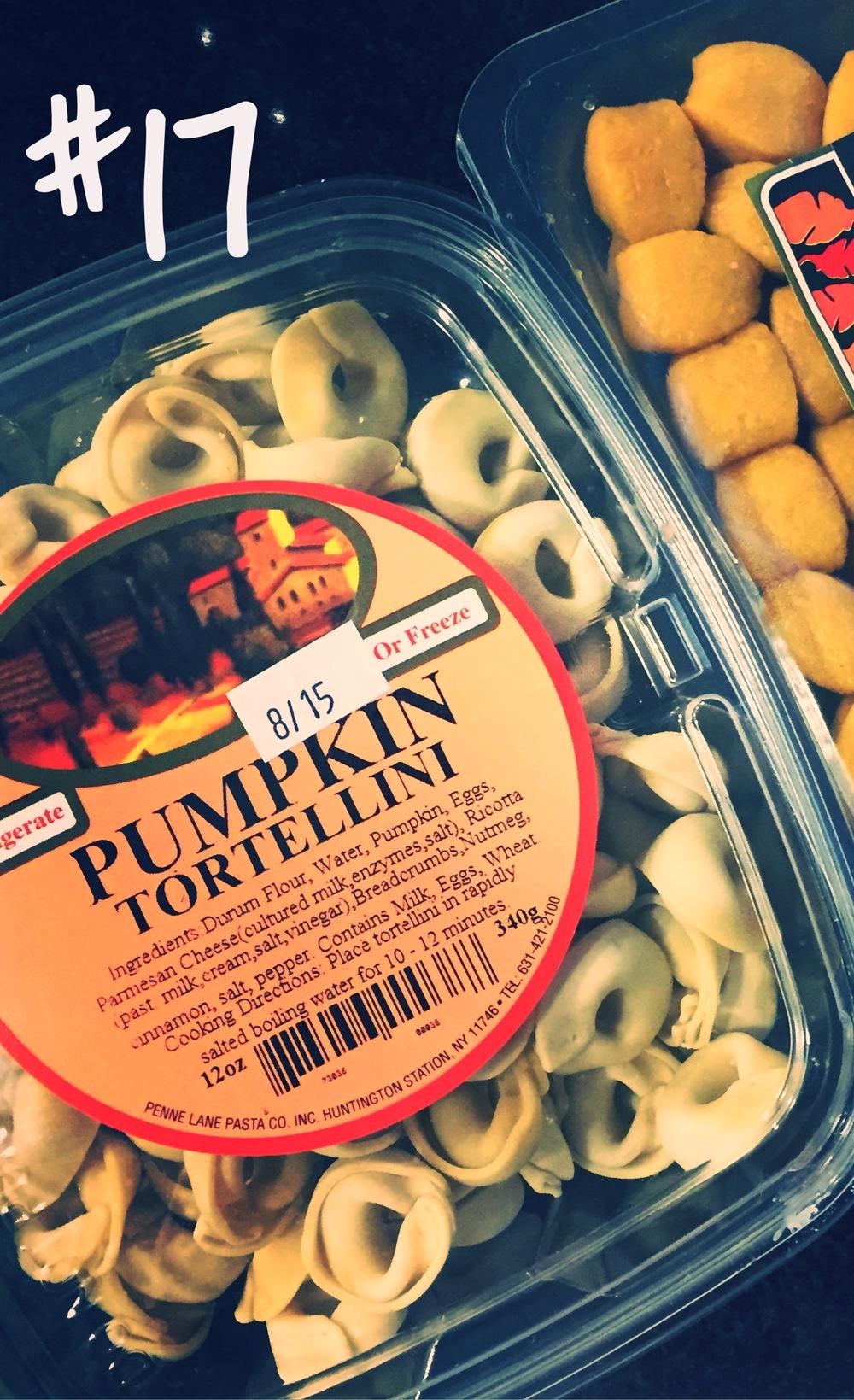 Fairway Brand Pumpkin Tortellini