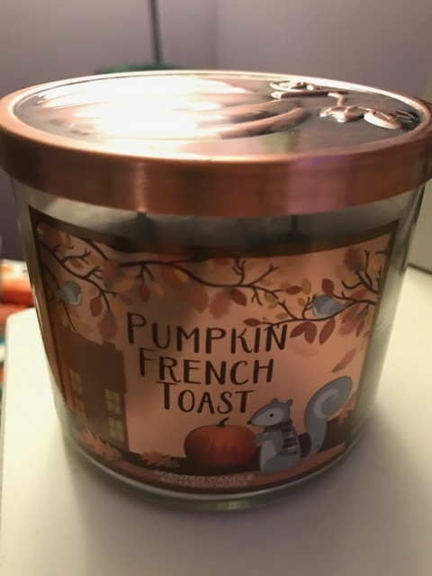 To give you a complete picture of why I picked pumpkin french toast as TOP PUMPKIN BATH & BODY WORKS SCENT, I can't even have this candle open in my room without automatically feeling hungry, thinking about fluffy pumpkin french toast and running to the kitchen to start making brunch. Absolute pumpkin genius with this one and recipe inspiration too! When you see this one out this fall, grab as many as you can and run!