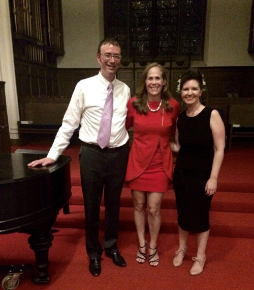 John Kramer, Piano with Kara Yimoyines and Maggie Finnegan, Soprano