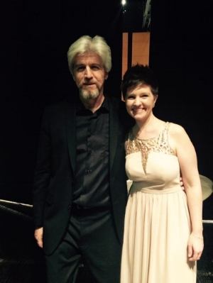 Me with Conductor Pablo Saelzer