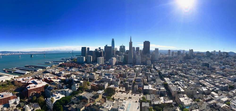 Views from Coit Tower