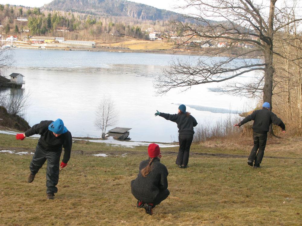 Åpningsforestilling Dans i skogen Kari Anne Vadstensvik Bjerkestrand m/StillAlive