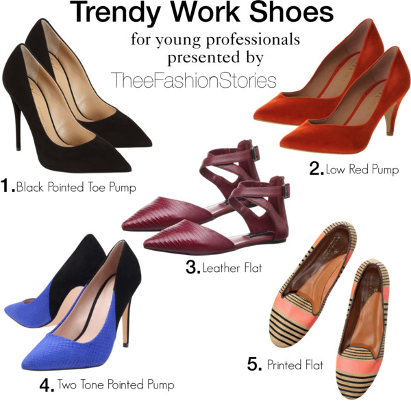 Trendy Work Shoes for Young Professionals