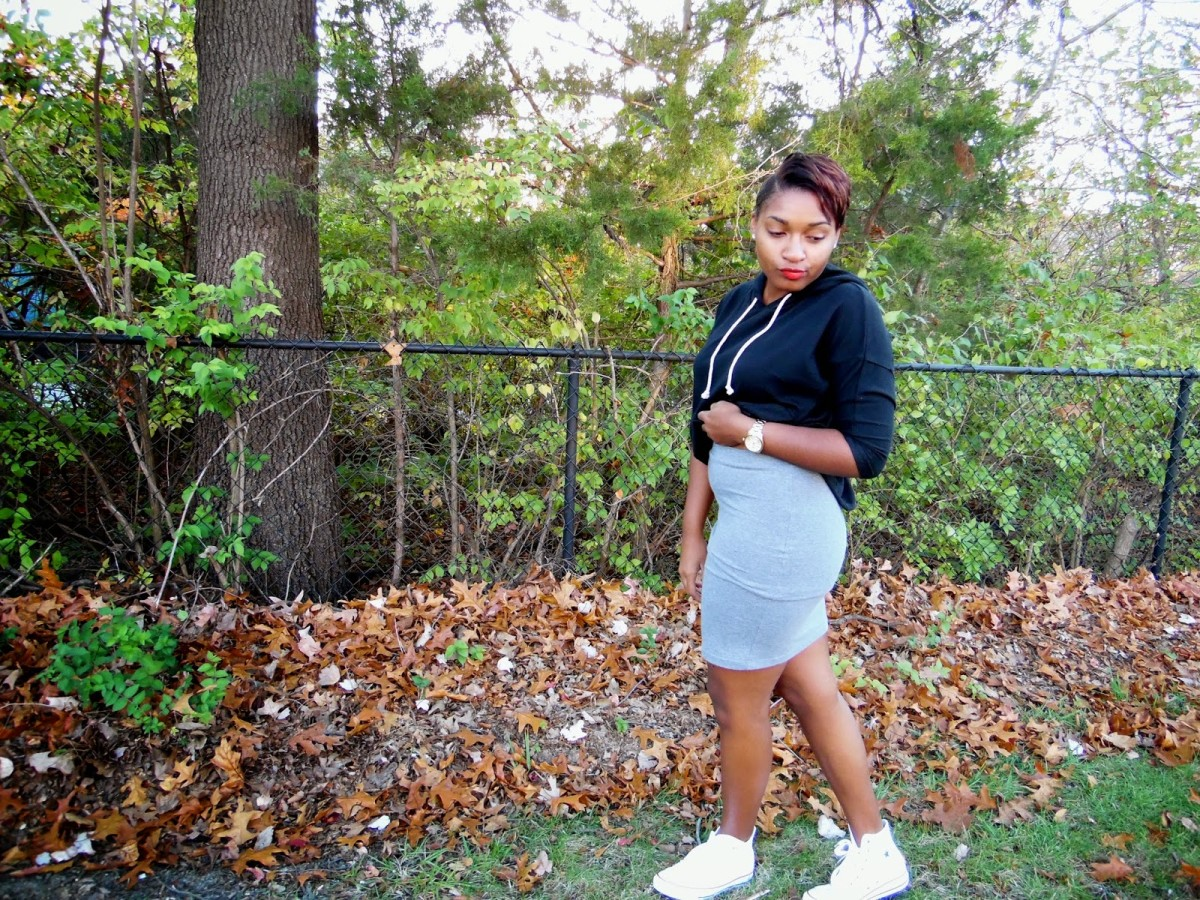 How to Dress Down a Pencil Skirt