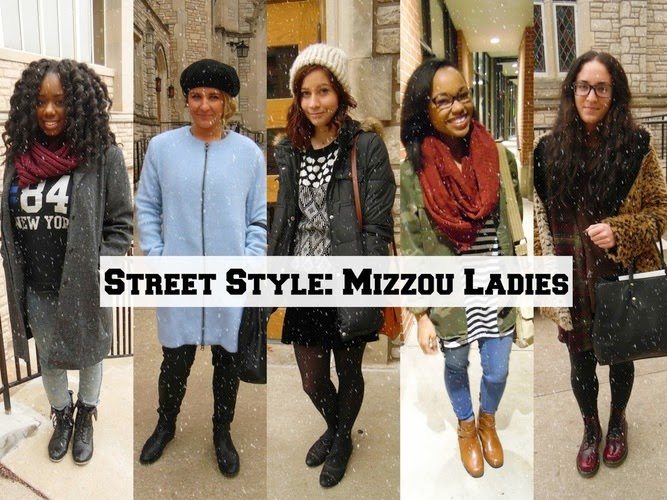 Jasmine Diane documents street style at the University of Missouri.