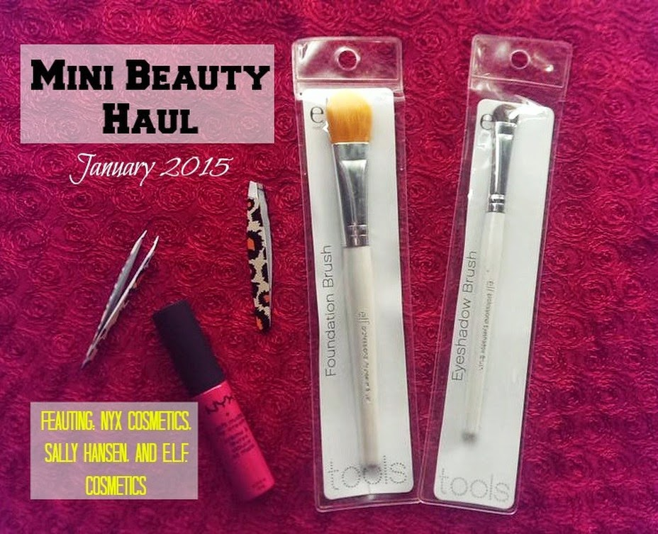 Mini Beauty Haul by JasmineDiane.com