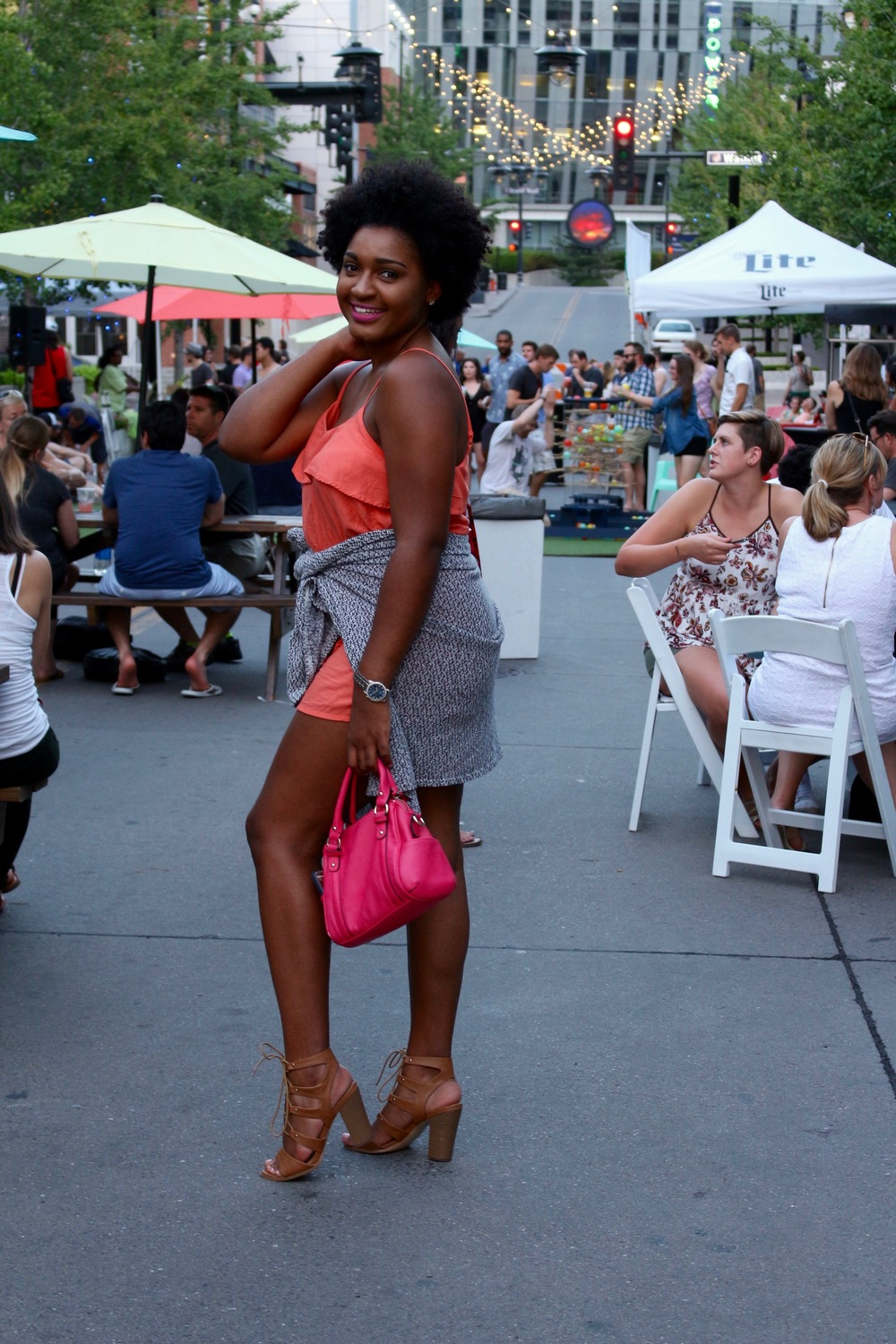 A night at Urbana KC in the Power and Light District by blogger Jasmine Cooper of jasminediane.com