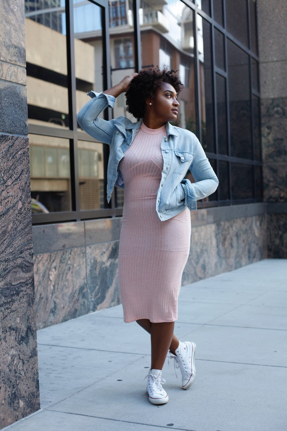 How to Rock a Baby Pink Dress