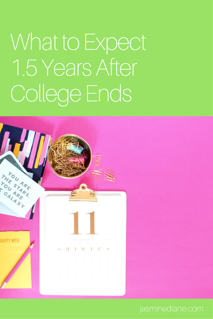 what to expect after graduating from college | life after college | what to expect after graduation