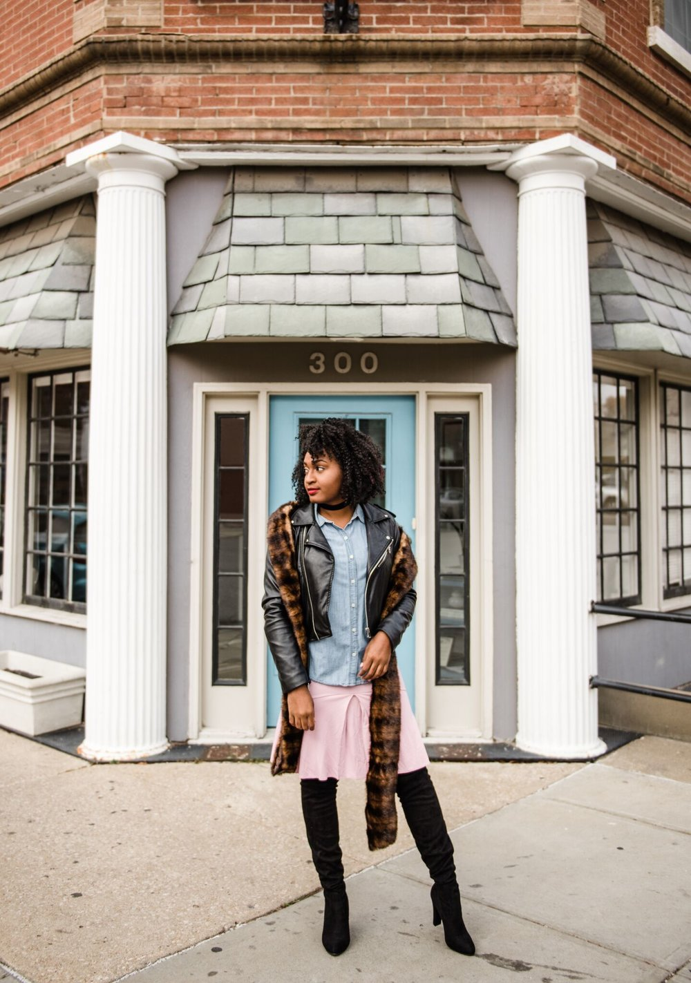 How to Style Knee High Boots by jasmine diane