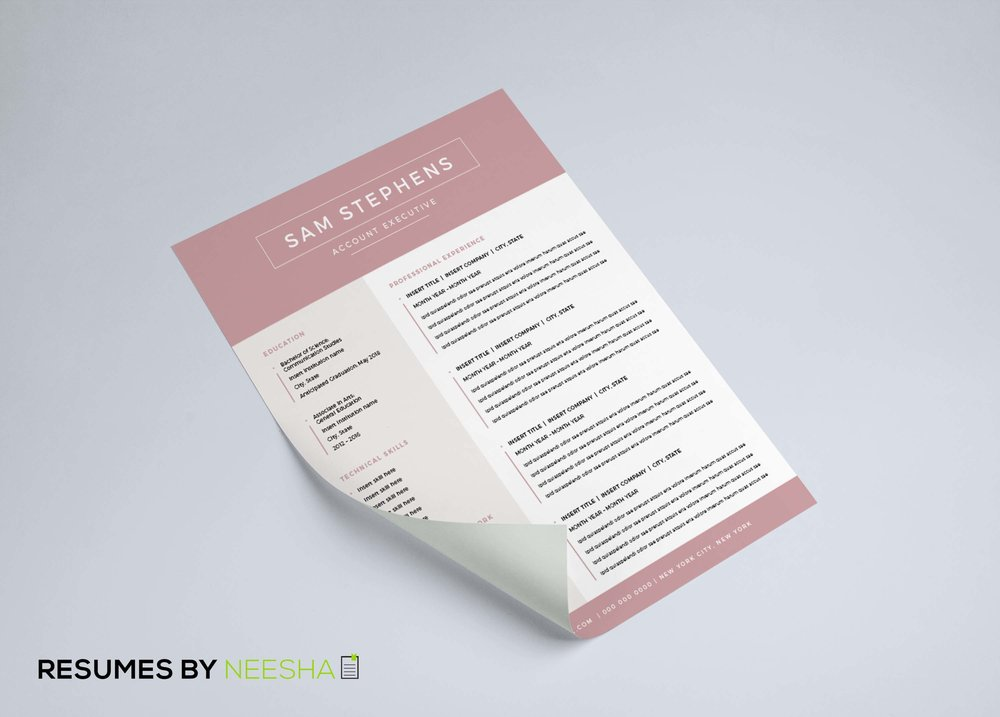 This Is What You Need For A Killer Resume