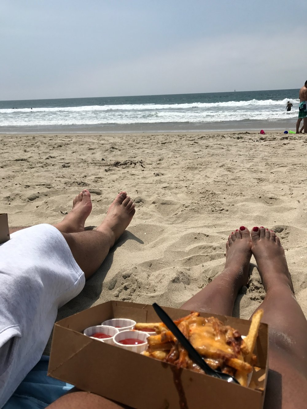 Beachin' with Babe