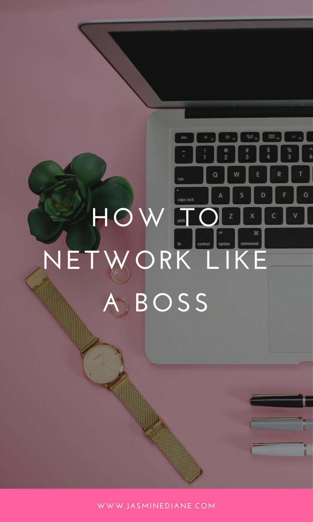 how do i network?