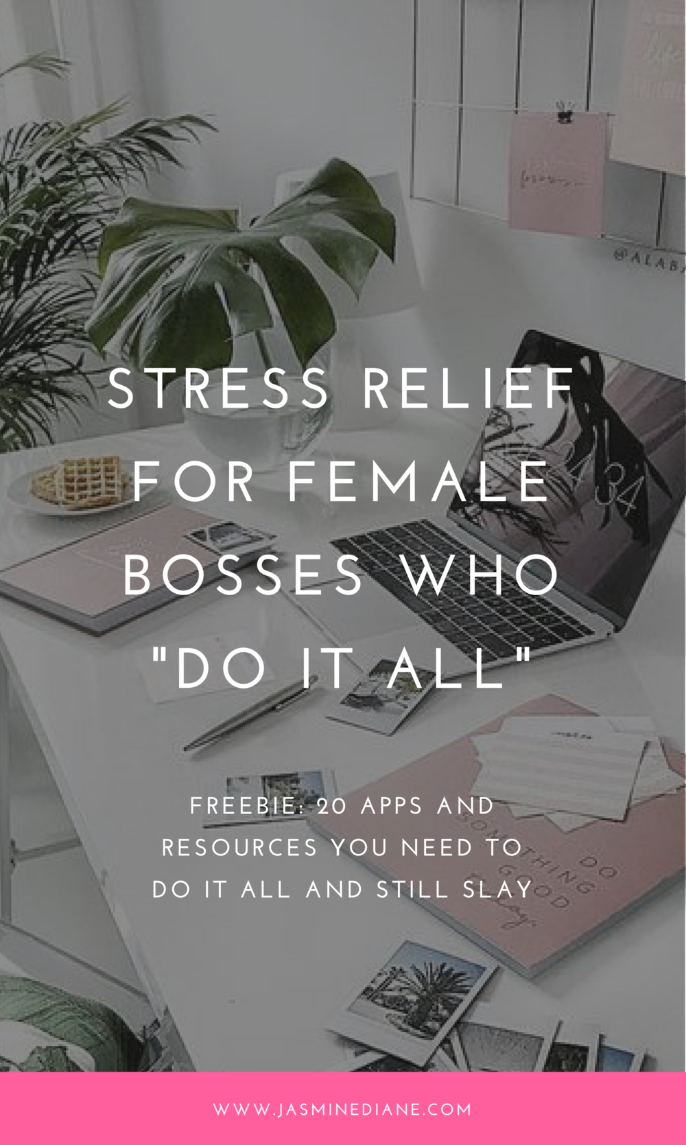 stress relief for female bosses