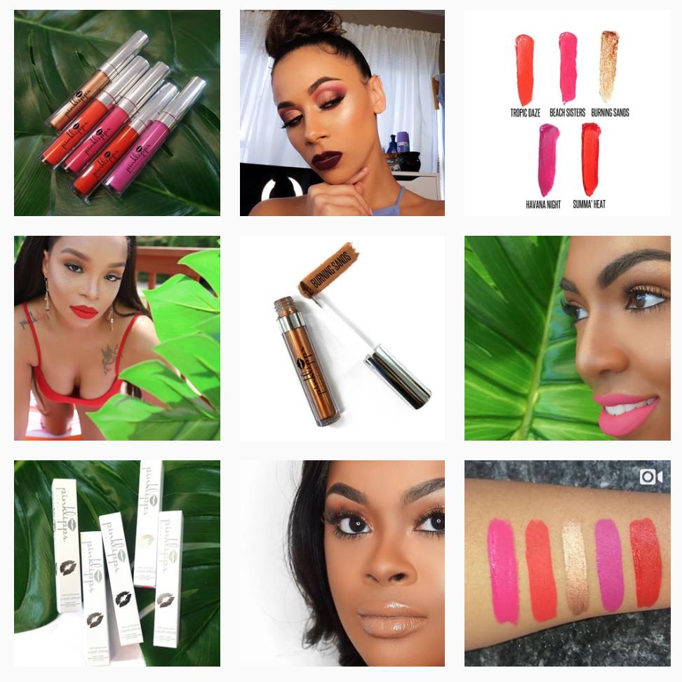 Pink Lipps Cosmetic Branding