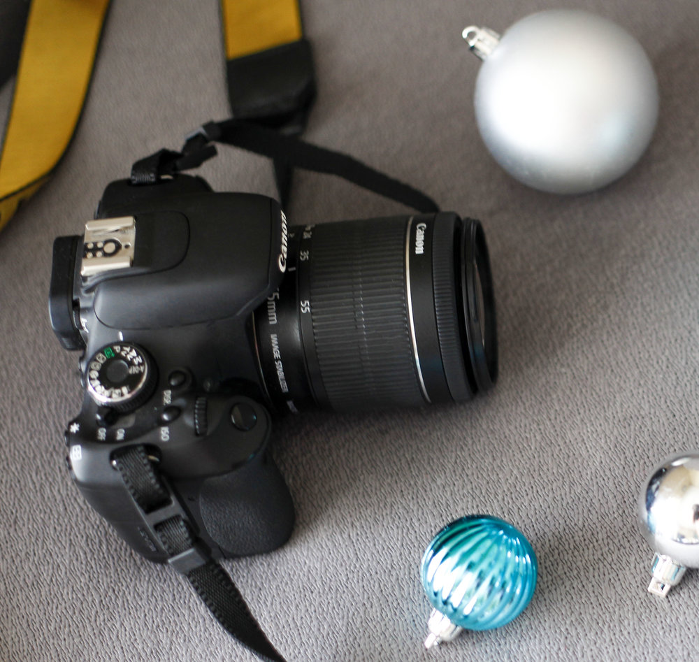 canon t5i with the kit lens - I purchased the 50mm lens from Overland Park Photo Supply.