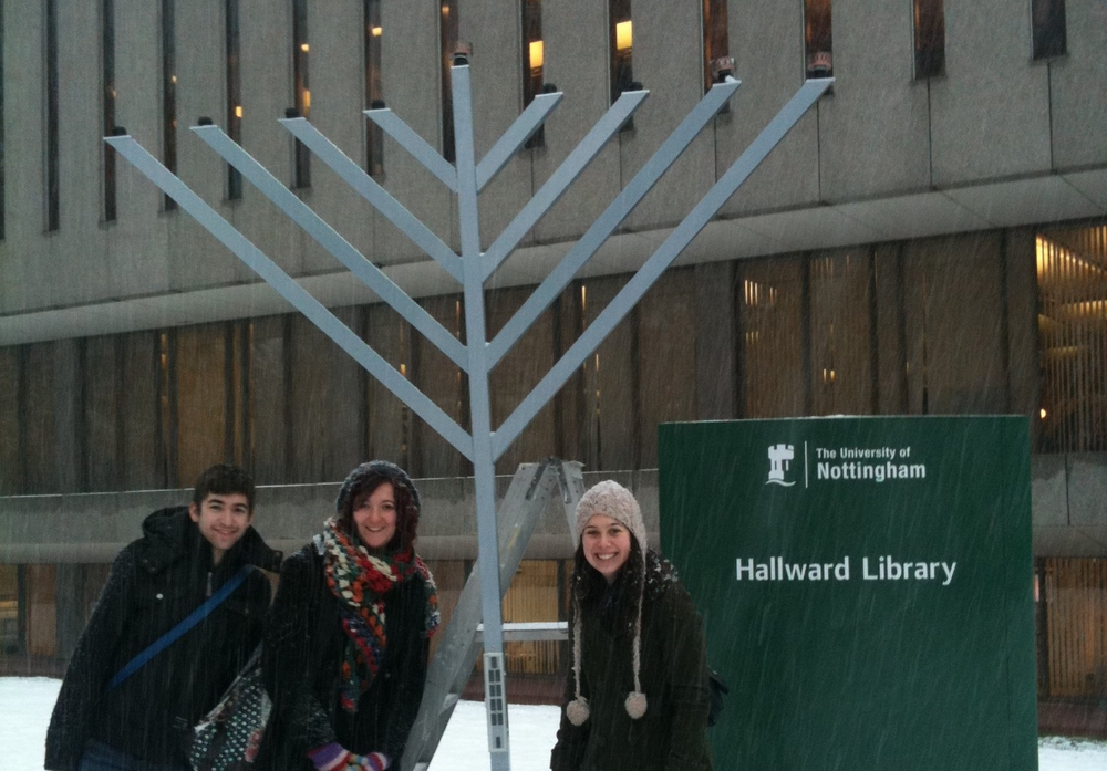 Chanuka at Uni of Nottingham Campus