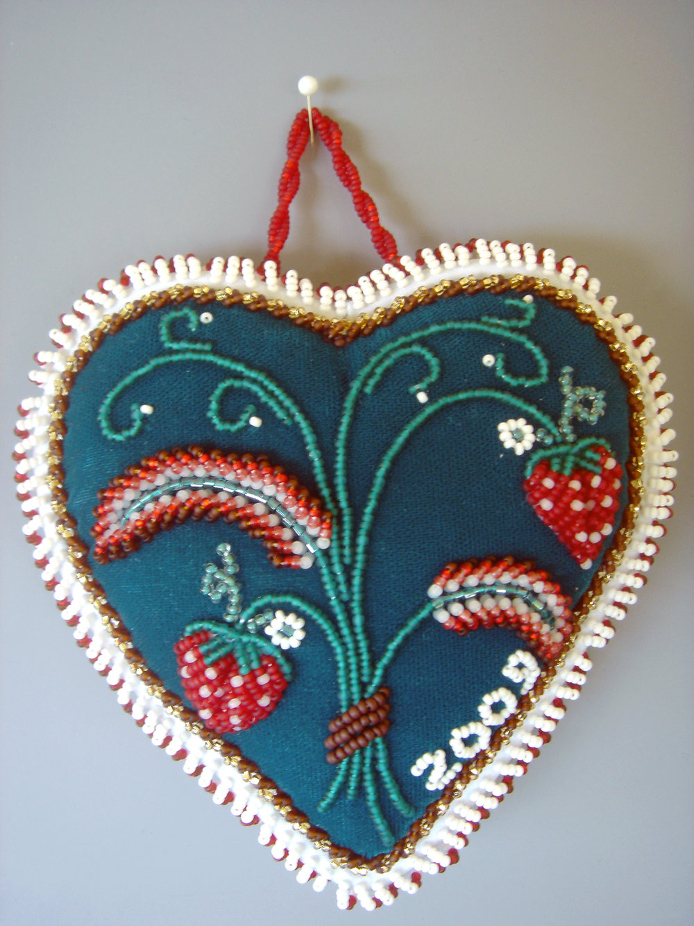 2009 - teal heart with strawberries.jpg