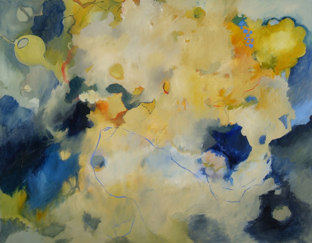 Ether Oil on canvas 48 x 60 inches