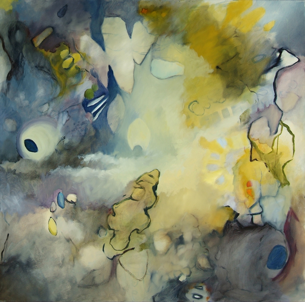 Forgotten Dream Oil on canvas 54 x 54 inches