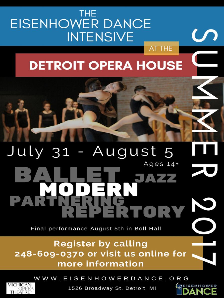 Eisenhower Dancer Summer Itensive