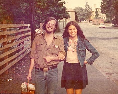 Timo ja Anja Tyrväinen kesällä 1975