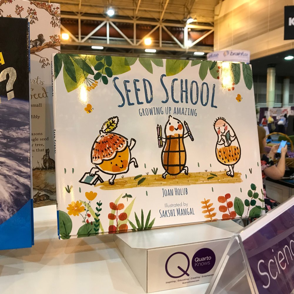 "Kirkus Reviews: "" A fun (and punny) introduction to seeds"""