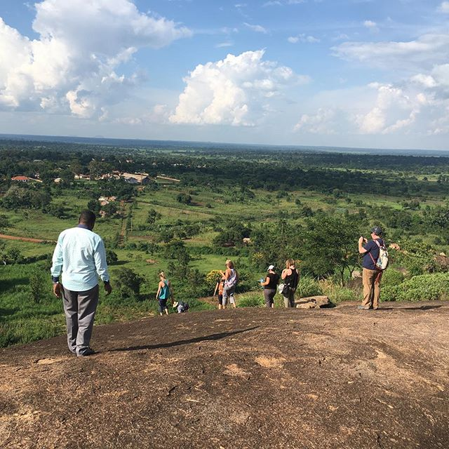 We have been busy and having so much fun showing a team of Social Workers from Colorado Mesa University around Kamuli and showing them what we do at The Vine! Today we showed them what church is like in Kamuli, and took them on a short hike up Prayer Mountain. Please keep this team in your prayers and thoughts as they get ready to head back to America in a few days!