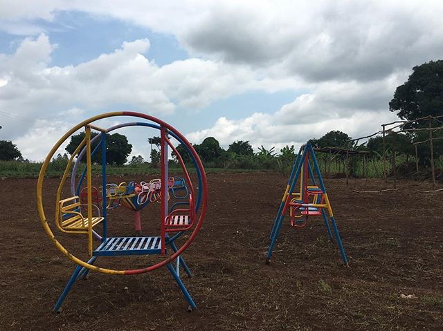 We got a very special delivery to the land today! Playground equipment for the kids in the community who are going to be part of our new Kids Club Project. Glory glory hallelujah!! We can't wait to hear the kids laughing, see them play and watch their smiles grow wide! God is on the move.