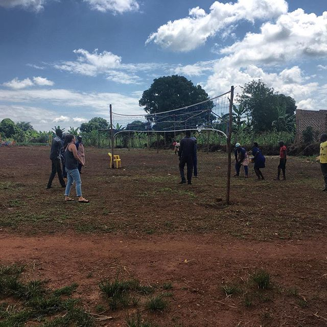 Our sports field is becoming very active! With our new volleyball net up, members from @tribeandglory, and members in the community come for an afternoon volleyball game during their lunch break. Imagine God looking upon this scene and smiling that His people are delighting in something simple. When we gather with those around us we great fellowship, which creates church! May we never forget that being the church is what it's all about, and being the church can happen anywhere! 🙌🏼🙌🏾🙌🏿
