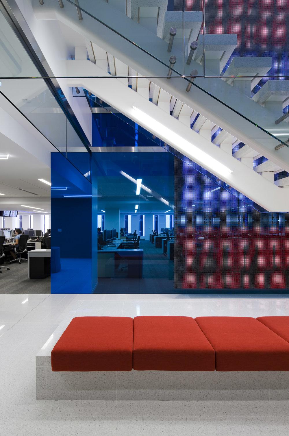 Dow Jones Office Space, Location: New York NY, Architect: Studios Architecture