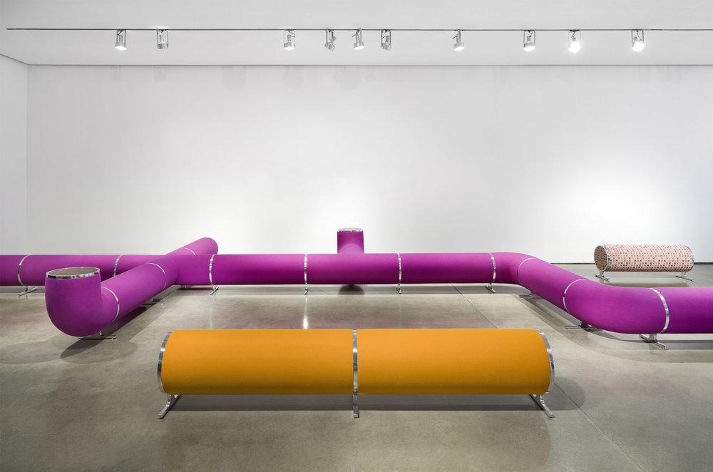 Dune Furniture Exhibit at Milk Gallery
