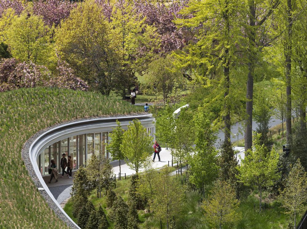Brooklyn Botanic Gardens Visitor Center