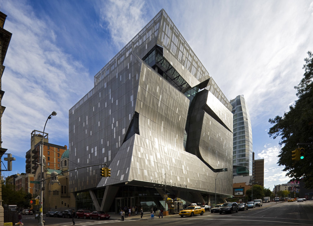 Cooper Union Academic Building, Location: New York NY, Architect:Morphosis