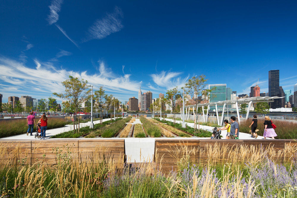 Hunter's Point Park, Weiss/Manfredi Architects