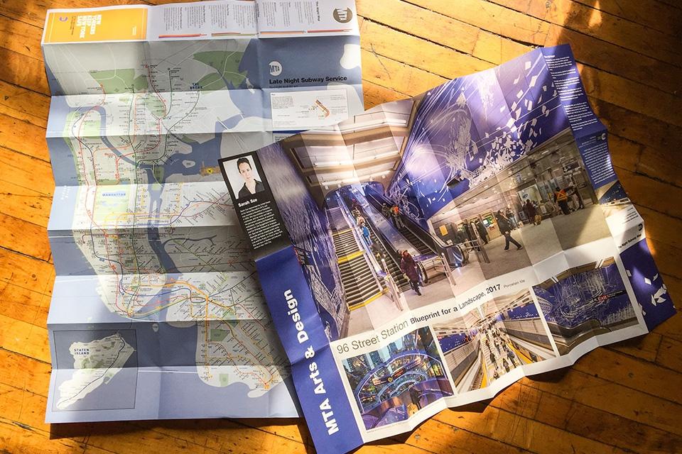 Subway photos: © Jeff Goldberg/Esto; Maps: © David La Spina/Esto