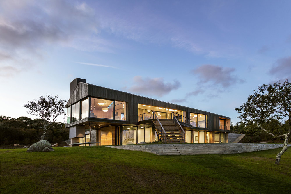 Martha's Vineyard Residence, Martha's Vineyard MA, Gray Organschi Architecture. © David Sundberg/Esto