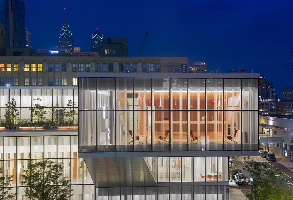 UPENN, Singh Center for Nanotechnology, Philadelphia PA, Weiss/Manfredi Architects. © Albert Vecerka/Esto