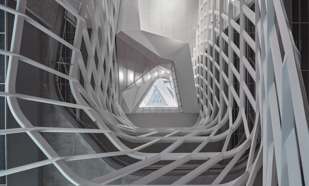 Cooper Union for the Advancement of Science and Art,New York NY, Morphosis Architects © Michael Vahrenwald/Esto