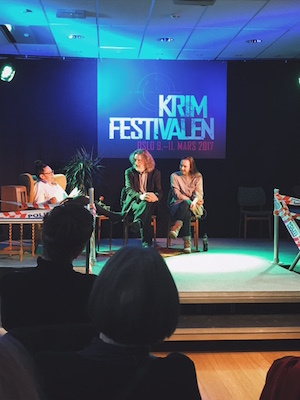 Icelandic Crime Fiction panel