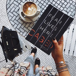 Book Review: CAGED by Ellison Cooper — Crime by the Book