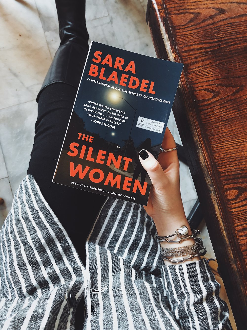 The Silent Women Sara Blaedel.JPG