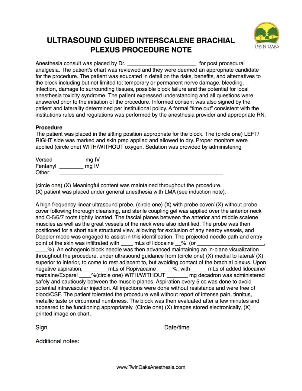 intersclene Procedure Form.png