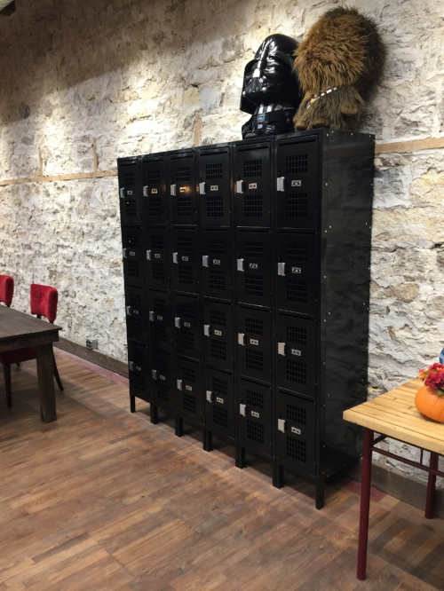 Member Lockers with Mail Slots