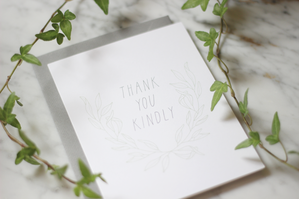 oh the sweet things - greeting card